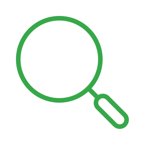 find, magnifier, magnifying, search, view, zoom icon