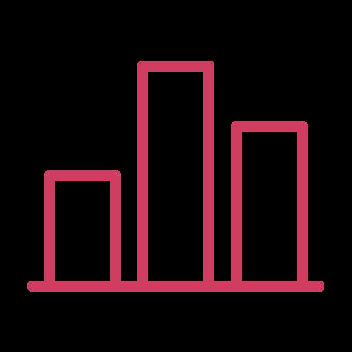 analytics, bars, charts, diagram, revenue, sales, statistics icon