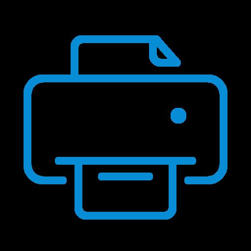 doc, document, paper, print, printer, printing icon