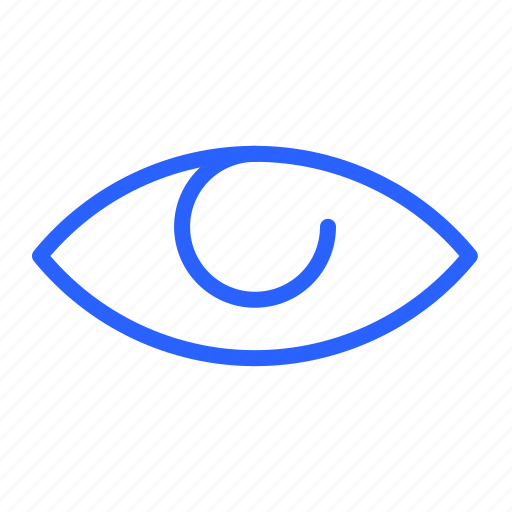 eye, look, ui, view icon