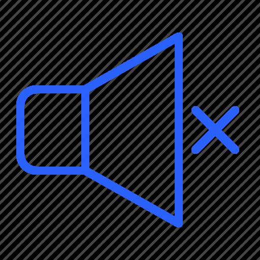 Audio, mute, speaker, ui icon - Download on Iconfinder