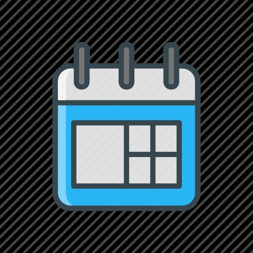 booking, calendar, date, schedule, travel icon