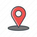 destination, location, locator, pin, travel icon