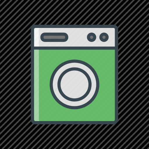 facility, hotel, laundry, travel, wash icon