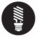 energysaver, lightbulb icon