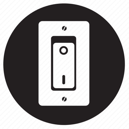 lightswitch, on, switch icon