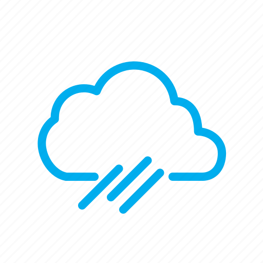 cold, forecast, rainy, season, wind, winter icon