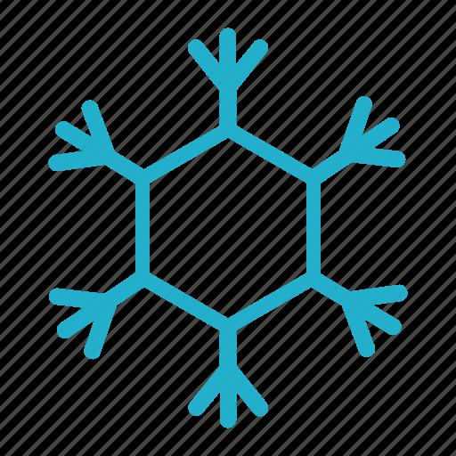 christmas, december, freez, season, season cold, snowflake icon