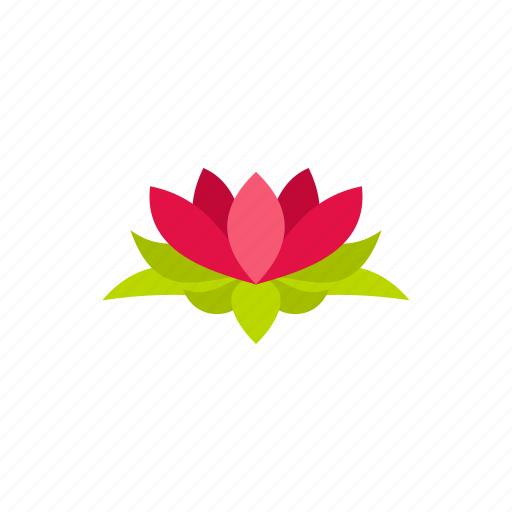 Floral, flower, lotus, nature, petal, plant, silhouette icon - Download on Iconfinder