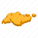 continent, location, map, navigation icon