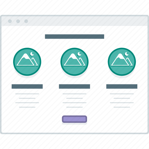 browser, home, layout, page, website, wireframe, workflow icon
