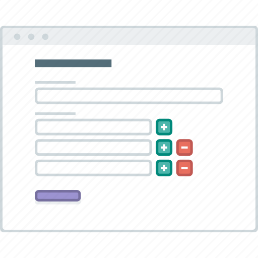 browser, form, layout, page, website, wireframe, workflow icon