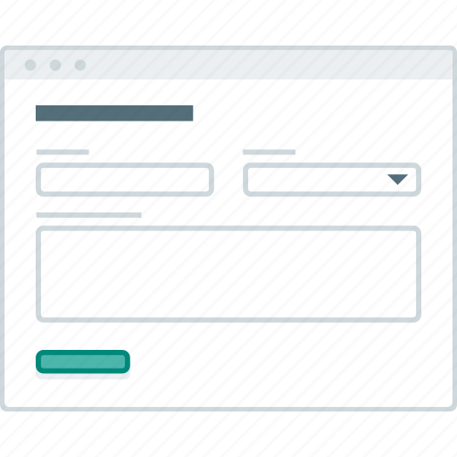 browser, forms, layout, page, website, wireframe, workflow icon