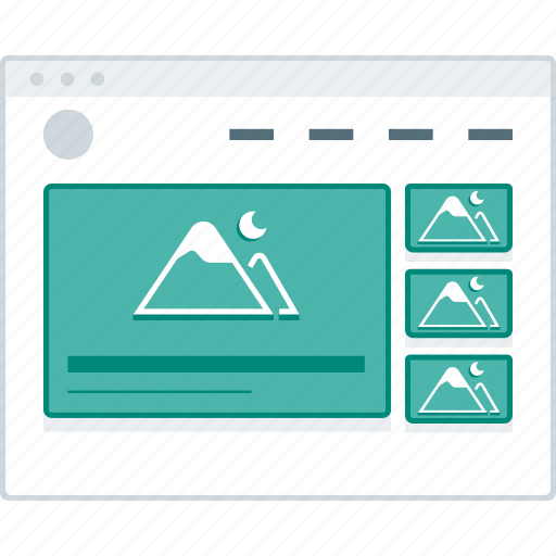 browser, header, layout, page, website, wireframe, workflow icon