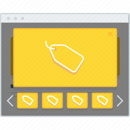 browser, ecommerce, layout, modal, page, website, wireframe icon