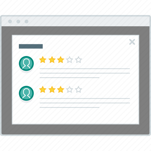 ecommerce, layout, modal, product, review, website, wireframe icon