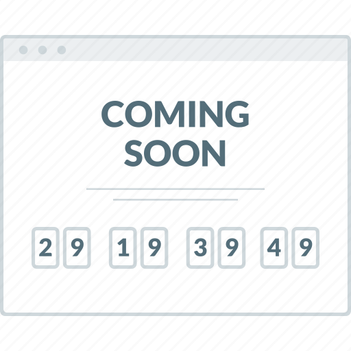 coming, home, layout, page, soon, website, wireframe icon