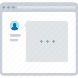 answer, flowchart, message, sitemap, support, user, web icon
