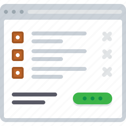 busket, ecommerce, flowchart, order, shop, sitemap, web icon