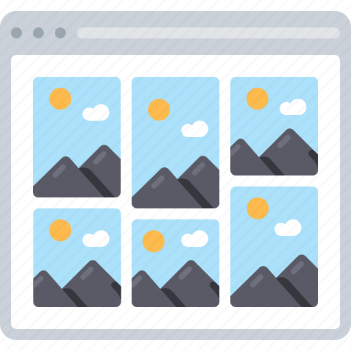 Flowchart, gallery, image, photo, pictures, sitemap, web icon - Download on Iconfinder