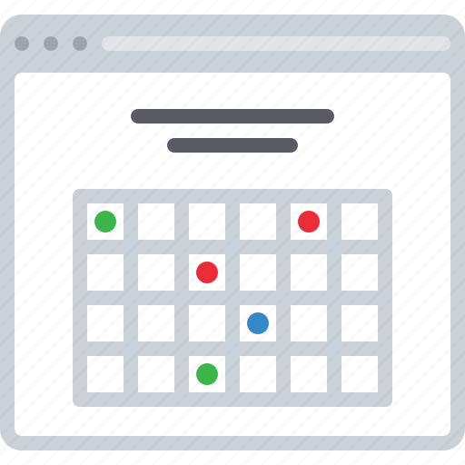 calendar, date, flowchart, meeting, schedule, sitemap, web icon