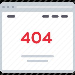 error, flowchart, sitemap, web icon