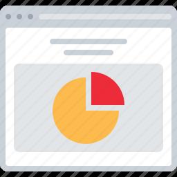 chart, flowchart, pie chart, sitemap, stat, web icon