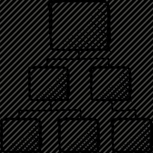 algorythm, design, layout, plan, rank, scheme, structure icon
