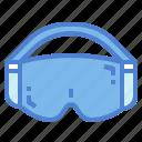 glassses, goggle, protection, safety, ski