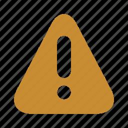 alert, caution, warning icon
