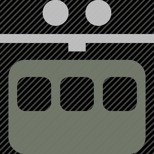 lift, ski, tram icon