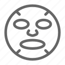 face, face mask, mask icon