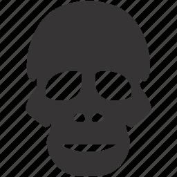 ape, dead, evil, halloween, skull icon