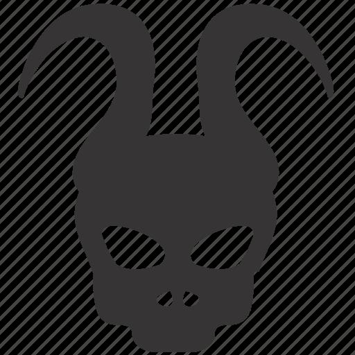 dead, evil, halloween, skull icon