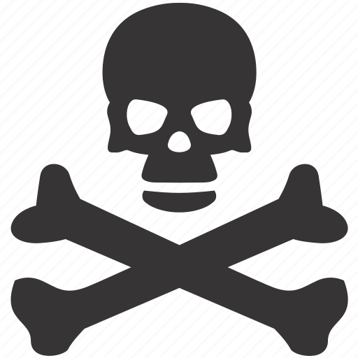 bones, dead, evil, halloween, pirate, skull icon