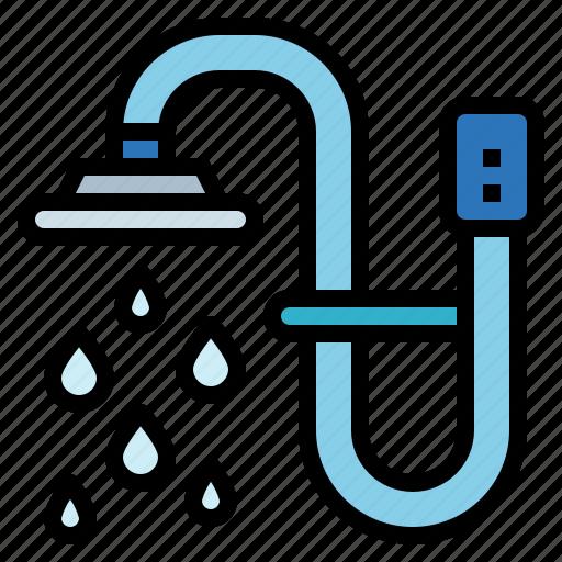 Bathroom, hygiene, shower, water icon - Download on Iconfinder