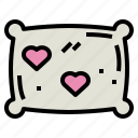comfortable, pillow, relax, sleep icon