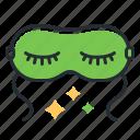 mask, rest, sleep, sleeping icon