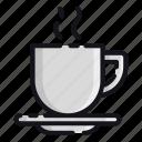 coffee, night, rest, sleep, sleeping icon
