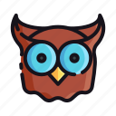 night, owl, rest, sleep, sleeping icon