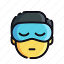 night, rest, sleep, sleeping icon