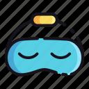 mask, night, rest, sleep, sleeping icon