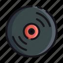 night, rest, sleep, sleeping, vinyl icon