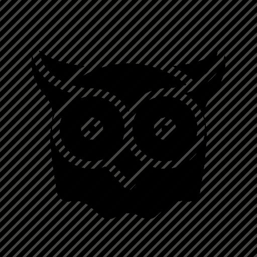 night, owl, rest, sleep, sleeping icon