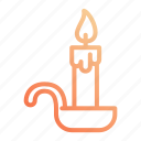 candle, night, rest, sleep, sleeping icon
