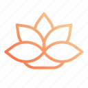 lotus, night, rest, sleep, sleeping icon