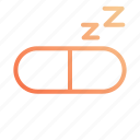 night, pills, rest, sleep, sleeping icon