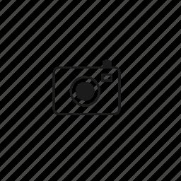 camera, slim icon