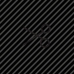 scissors, slim icon