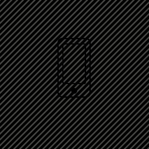 mobile, phone, slim icon